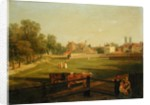 A Western View of Part of Westminster and Bird Cage Walk by George Arnald