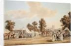 An encampment in St. James's Park by Paul Sandby