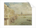 View of Somerset House Terrace and St. Paul's by John Constable