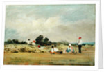 Haymakers Resting by Frederick Waters Watts