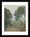 Avenue of Trees with Figures by English School