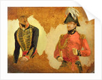 Studies of Royal Horse Artillery Uniform, and of an A.D.C. to the Commander in Chief by George Jones