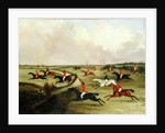 The Quorn Hunt in Full Cry: Second Horses, after a painting by Henry Alken by John Dalby