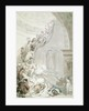 The Exhibition 'Stare-Case', Somerset House by Thomas Rowlandson