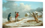 A Soldier's Return by George Morland