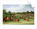 Epsom Races: Preparing to Start by James Pollard