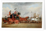 'The Last of the Mail Coaches': The Edinburgh-London Royal Mail at Newcastle-upon-Tyne, 5th July 1847 by James Pollard