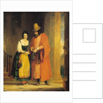 Shylock and Jessica from 'The Merchant of Venice', Act II, Scene ii by Gilbert Stuart Newton