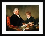 Francis Noel Clarke Mundy and his Grandson, William Mundy by Ramsay Richard Reinagle