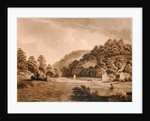 View at Redbrook in the River Wye, plate 13 from 'Views of the River Wye', engraved by F. Jukes by Edward Dayes