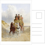 The Royal Mail Coach on the Road by John Frederick Herring Snr