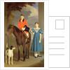 John Gubbins Newton and his Sister Mary by Robert Burnard