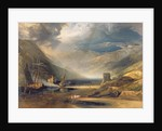 A Storm Passing Off on the Coast of Merionethshire by Anthony Vandyke Copley Fielding