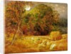 The Harvest Moon by Samuel Palmer