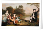 Portrait of a Family, traditionally known as the Swaine family of Fencroft, Cambridgeshire by Arthur Devis