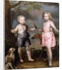 Lord John Hay and Charles, Master of Yester by Gerard Soest