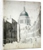 St. Paul's Cathedral by Thomas Girtin