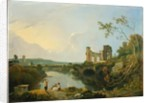 Italian Landscape (Morning) by Richard Wilson