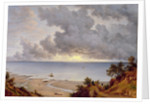 View from Shanklin, Isle of Wight by John Glover
