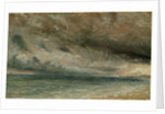 The Coast at Brighton - Stormy Evening by John Constable