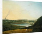 Lago d'Agnano with Vesuvius in the Distance by Richard Wilson