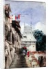 Abbey St-Amand, Rouen by Richard Parkes Bonington