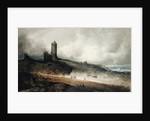 Aberystwyth Castle by John Sell Cotman