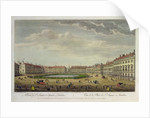 A View of St. James's Square, London by Thomas Bowles