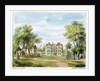 South Front, Old Palace, Kew Gardens by George Ernest Papendiek