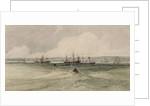 View of Sheerness by Francois Louis Thomas Francia