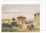 The Temple of Vesta, Rome by James Holland