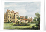 North Front, Old Palace by George Ernest Papendiek