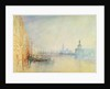 Venice, The Mouth of the Grand Canal by Joseph Mallord William Turner