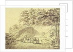 A View of the Cuttera Built by Jaffier Cawn at Murishidbad by Joseph Mallord William Turner