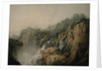 Tivoli with the Temple of the Sibyl and the Cascades by Joseph Mallord William Turner