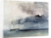 Steamboat in a Storm by Joseph Mallord William Turner