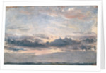 A Cloud Study, Sunset by John Constable