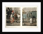 Fore's Contrasts: The Driver of 1832, The Driver of 1852 by Henry Alken