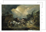 Coach in a Thunderstorm by Philip James de Loutherbourg