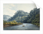 Goodrich Castle on the Wye by Thomas Hearne