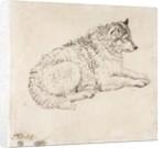 Arctic Dog, Facing Right by James Ward