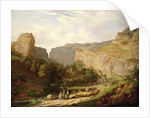 A View of Cheddar Gorge by George Vincent