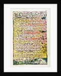 'The Chimney Sweeper' by William Blake