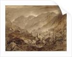 Mountain Landscape, Macugnaga by John Ruskin