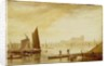 Westminster Bridge and Abbey by William Daniell