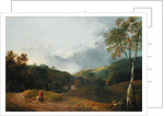 Landscape with Cottagers by George the Elder Barret