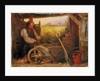 The Old Gardener by Briton Riviere