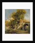 Harnham Gate, Salisbury by John Constable