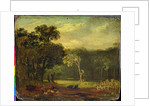 Sketch from Nature in Sion Park by Samuel Palmer