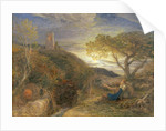 The Lonely Tower by Samuel Palmer